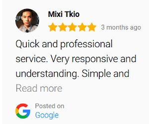 outstanding feedback on our design services