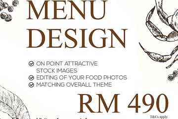 menu design price malaysia