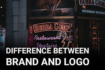difference between brand and logo