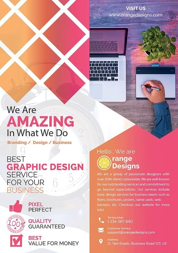 agency flyer design malaysia
